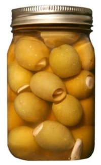 Garlic Stuffed Olives 16 oz