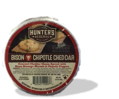 Bison Chipotle Cheddar Cheese Cup 3.5 oz.