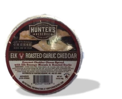 Elk Roasted Garlic Cheese Cup 3.5 oz.