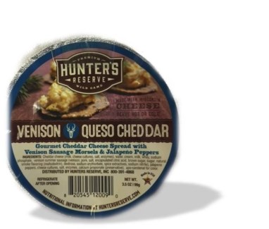 Venison Queso Cheese Cup 3.5 oz.