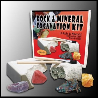 Rock & Mineral Excavation Kit