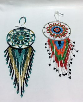3in All Beaded Good Luck Dreamcatcher