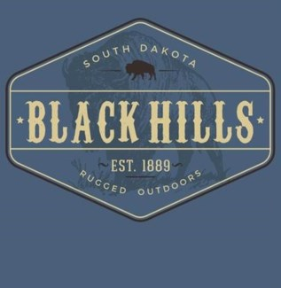 Black Hills Tee - View Indigo Blue - S