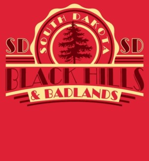 Black Hills Tee- Red Parlor - S