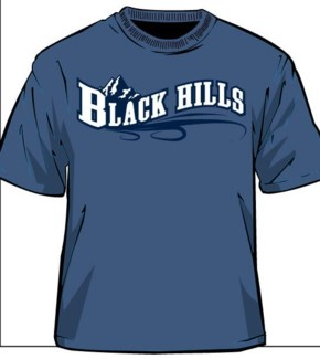 Black Hills Tee- Indigo Blue Ridge - S
