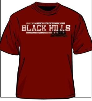 Black Hills Tee- Timberland Cardinal Red - S