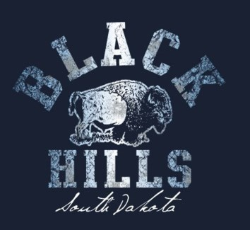 Black Hills Tee- Dirty Wash Navy- S