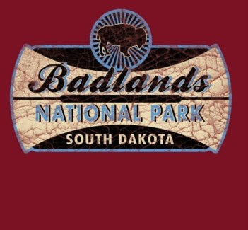 Badlands Tee- Furtura Red- S