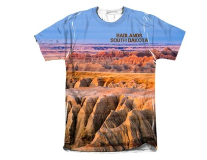 Badlands Sublimated Tee M