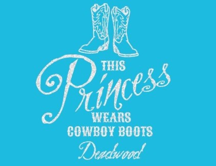 DW Youth Princess Boots- Blue XS