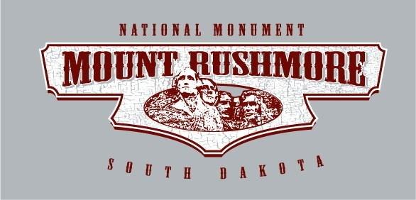 Mt Rushmore Tee- Sport Grey Fullchest- S