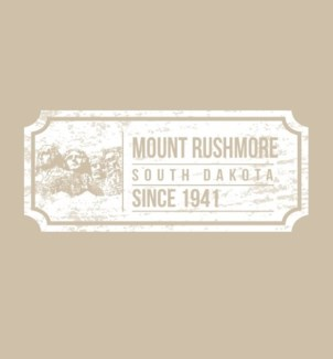 Mt Rushmore Tee- Ticket Sand - S