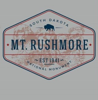 Mt Rushmore Tee- View Grey -S