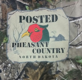 ND Posted Pheasant Camo Tee M