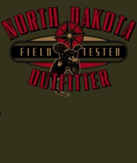 ND Pheasant Outfitter Green Tee M