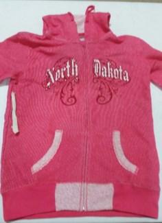 ND Pink Zip Up Hoody M
