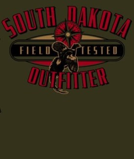 SD Pheasant Outfitter Green Tee M