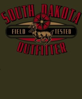 SD Deer Outfitter Green Tee XL
