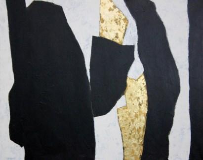 Khrysos W/Gold Leaf GALLERY WRAP