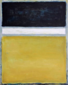 Black and Yellow GALLERY WRAP