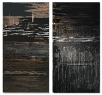 Stark Mirage - Reverse Painted Lucite