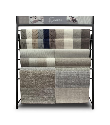 Broadloom Waterfall Display Rack No Samples