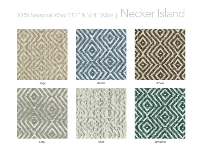 "Necker Island 13.5"" x 18"" Set"