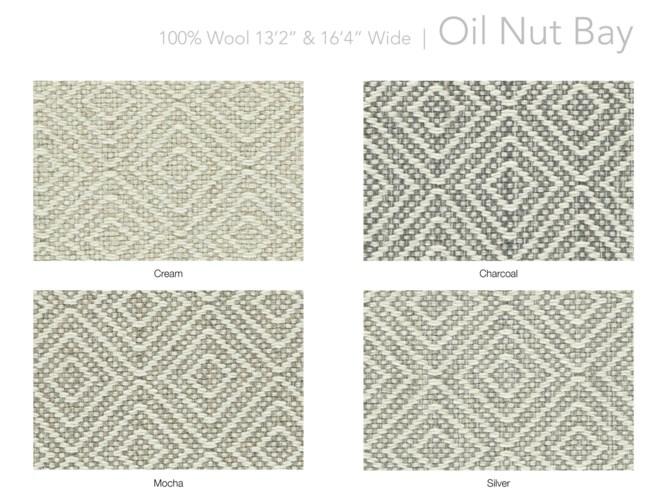 "Oil Nut Bay 13.5"" x 18"" Set"