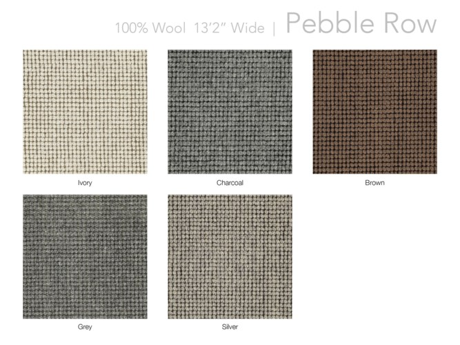 "Pebble Row 13.5"" x 18"" Set"
