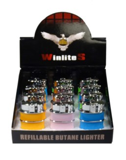 Refillable Butane Lighter - Asst. Colors