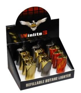 Refillable Butane Lighter