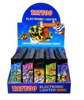 Tattoo Electronic Lighter - Gemstone