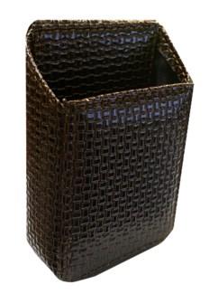 Double Sided Asst. Design Leather Wrap Cigarette Case