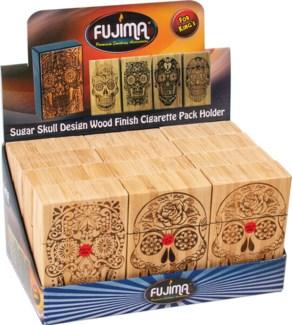 Leather Cigarette Pack Box Holder