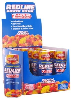 Redline 7 Hour - Peach Mango