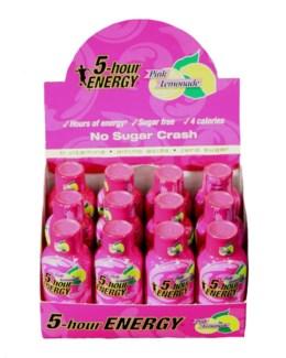 5 Hour - Pink Lemonade (12 ct.)