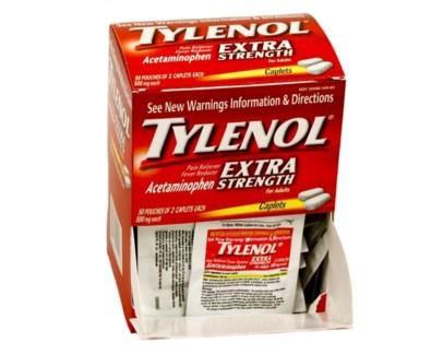 Box Tylenol ES (50 pouches per box)