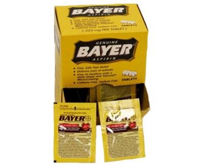 Box Bayer (25 pouches per box)
