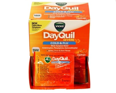 Box Dayquil (25 pouches per box)