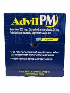 Box Advil PM (50 pouches per box)