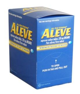 Box Aleve (25 pouches per box)