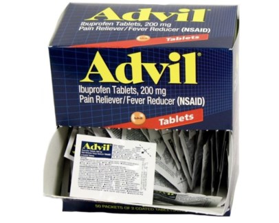Box Advil (50 pouches per box)