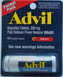 Advil Carded Vial (12 vials per box)