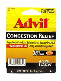 HS Advil Congestion