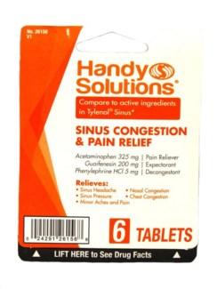 HS Sinus Congestion & Relief