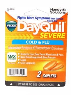 HS Dayquil Severe Cold & Flu