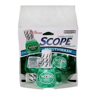 Scope Mouthwash (18 per box)