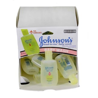 Johnson's Baby Wash (18 per box)