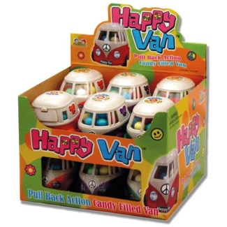 Happy Van Candy Filled Van (12 Pc. Display)