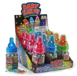 Baby Flash Pop Candy (12 Pc. Display)